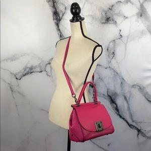 COACH Drifter handbag pink leather satchel NWT